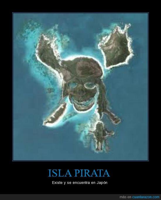 existe,isla,japon,pirata
