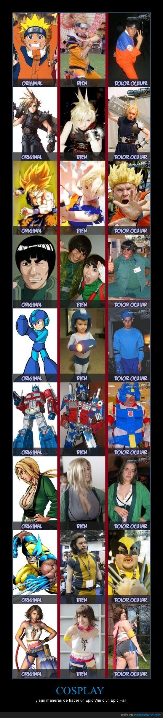 cosplay,fail,frikis,ladygaga,win