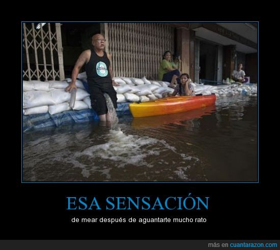 chorro,inundación,mear