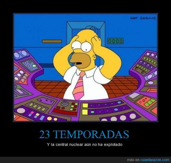 23,bum,central,central nuclear,explotar,groening,Homer,matt,nuclear,Simpsons,temporadas