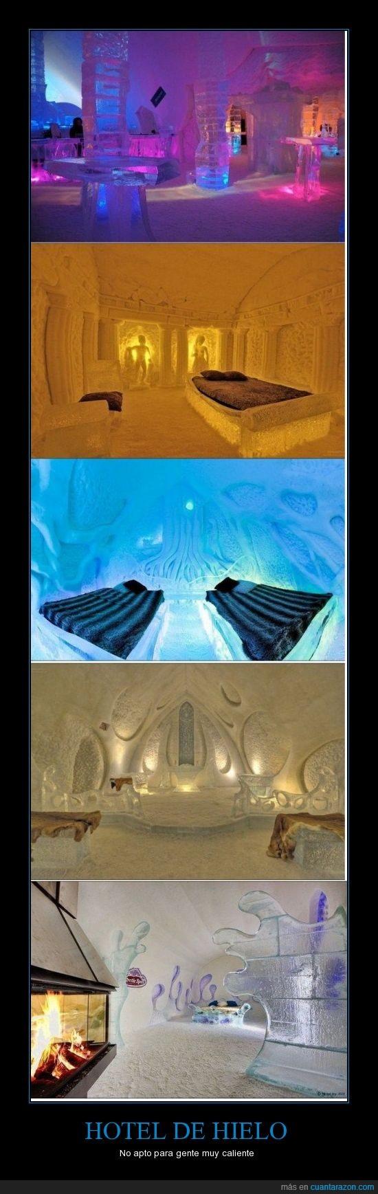 habitaciones,Hotel de hielo