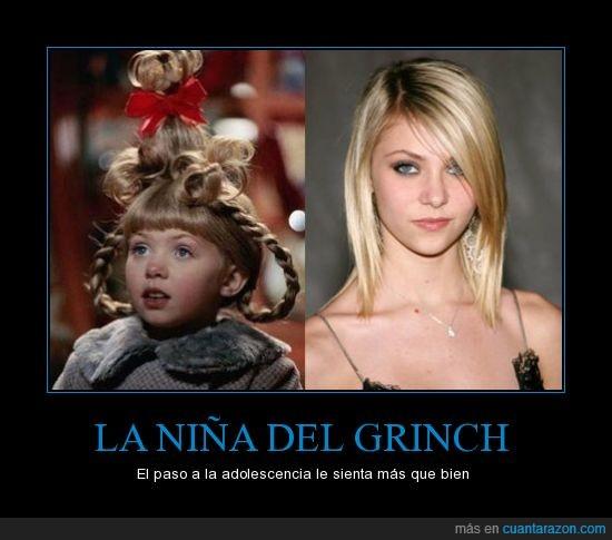gossip girl,niña grinch,taylor momsen