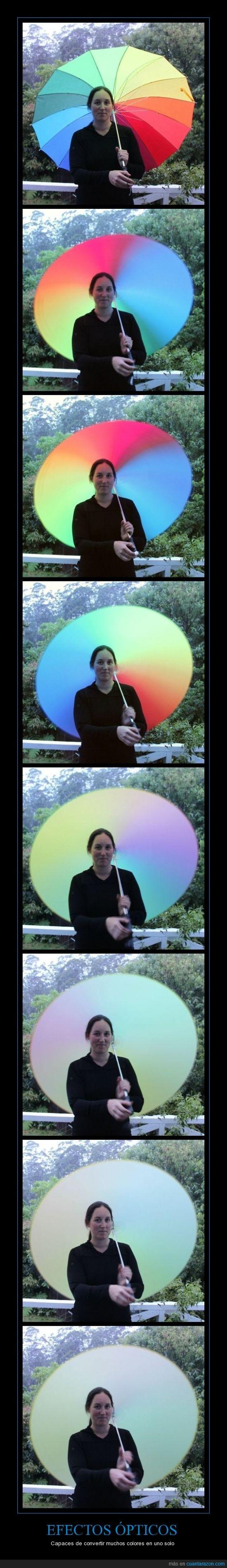 colores,efecto óptico