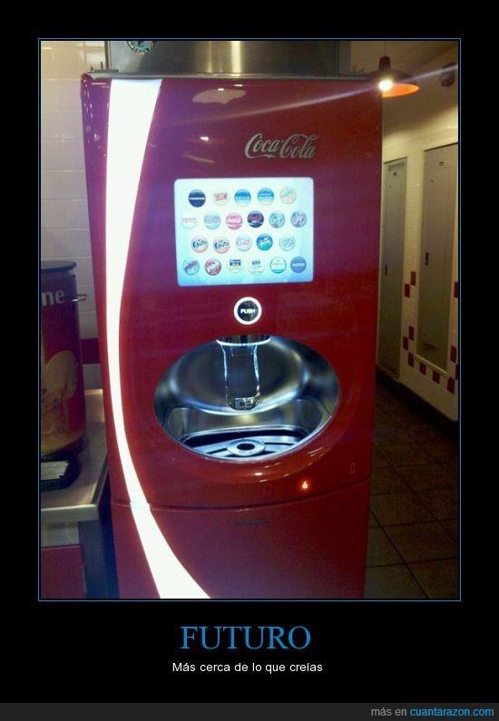 Coca Cola,Expendedora,Sodas