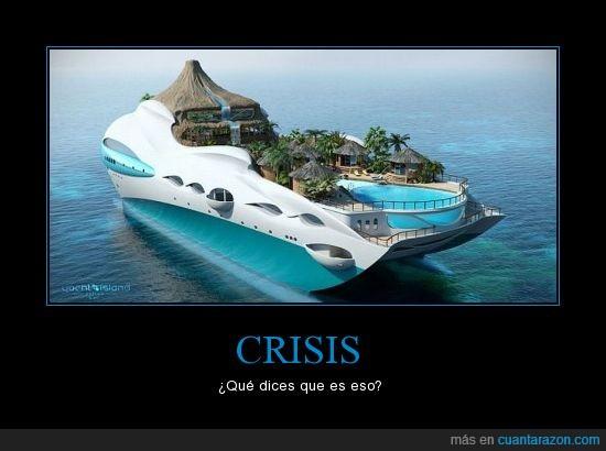 barco,crisis,dinero,isla,rico,yate