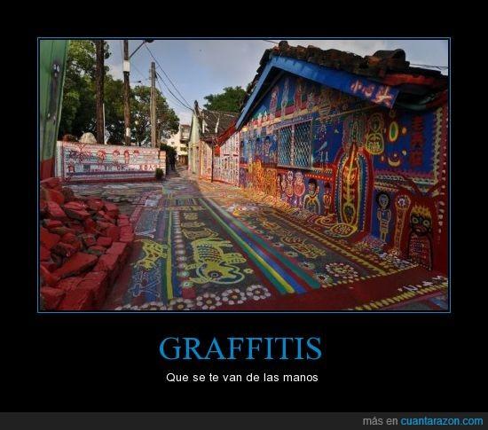 calle,casa,dibujo,graffiti,pintar,Street Art Utopia