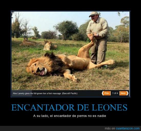 Leon,masaje