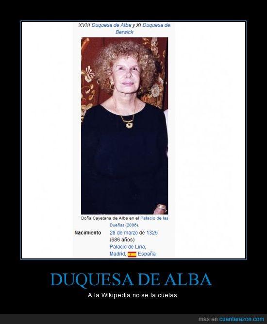 duquesa de alba,wikipedia
