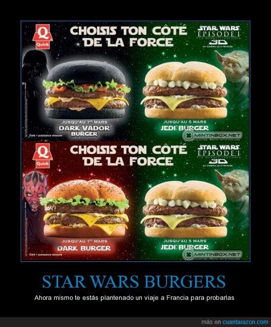 francia,hamburguesa,jedi,star wars