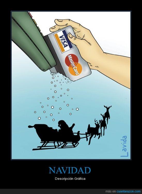 dinero,fiestas,navidad,tarjeta