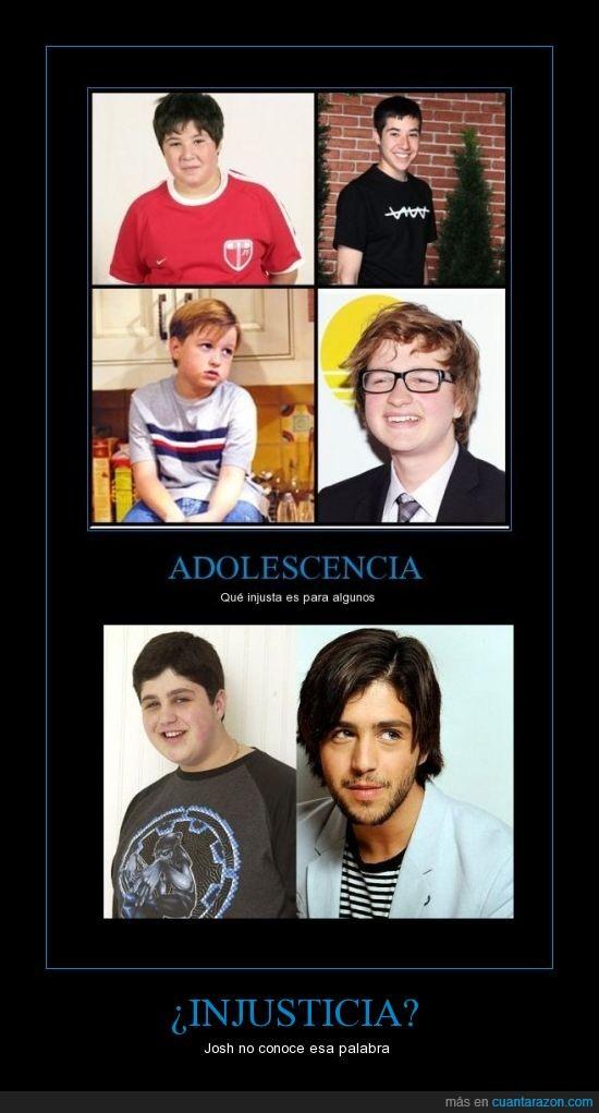 antes y después,Drake y Josh,Josh