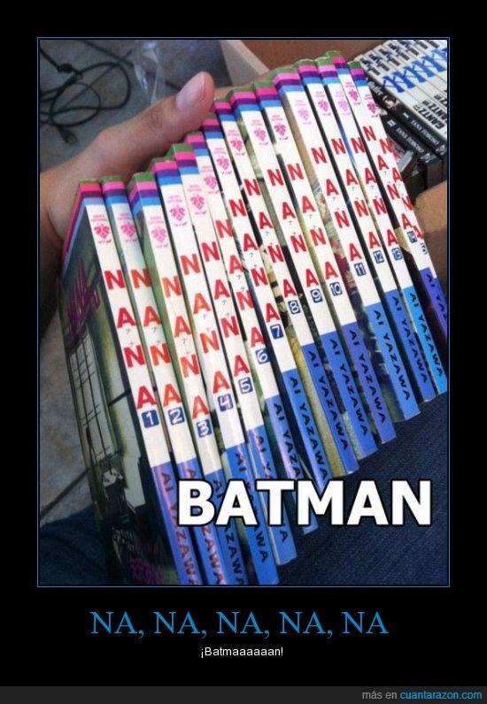 Batman,Libros,Na na na na na na