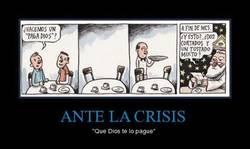 Enlace a ANTE LA CRISIS