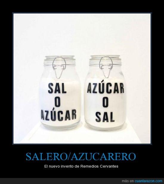 azucar,remedios cervantes,sal