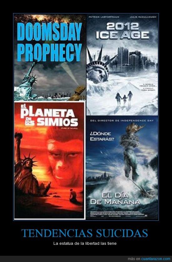 carteles cine,estatua libertad,originalidad not found