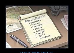 Enlace a INVADIR IRAQ