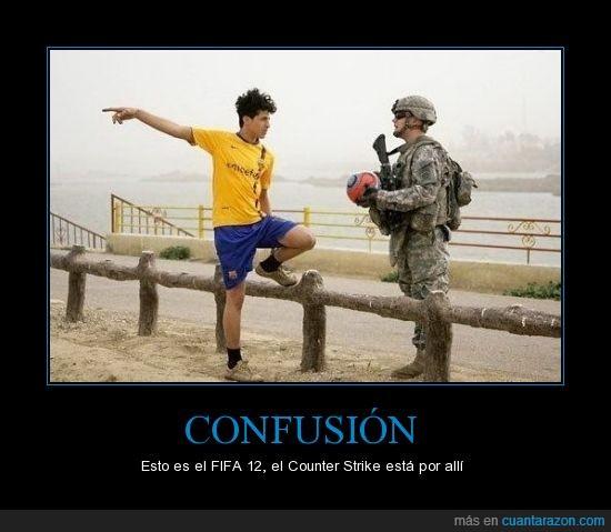 2012,arma,counter strike,fútbol,guerra,pes,pro evolution soccer,videojuegos