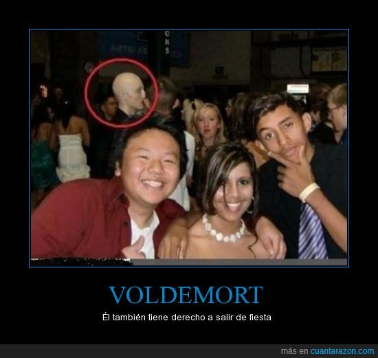 baile,fiesta,nariz,photobomb,Voldemort