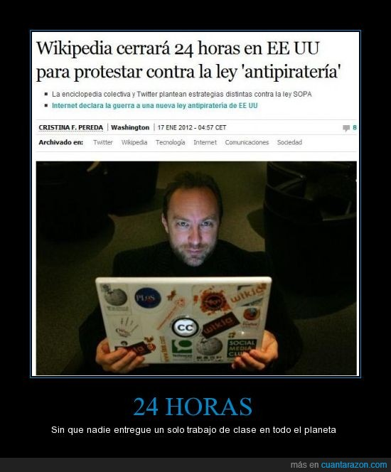 clases,SOPA,trabajos,wikepedia
