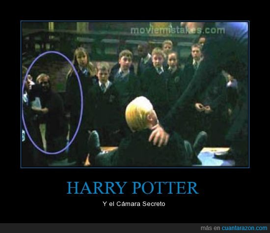 cámara,draco malfoy,error,harry potter,snape