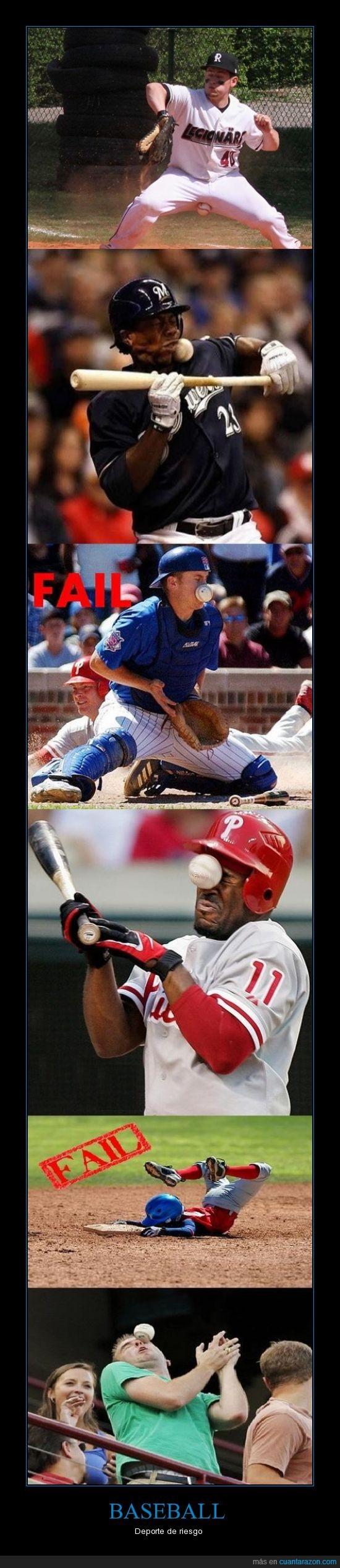 baseball,bola,fail,golpe