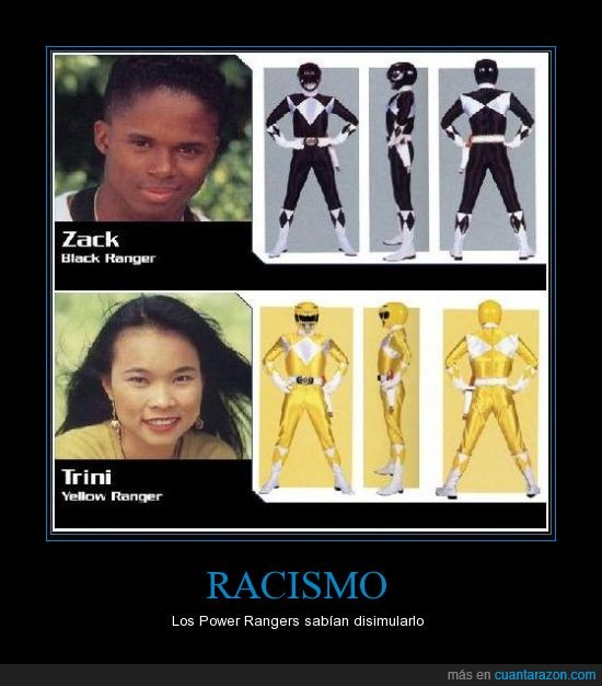 chino,negro,power,racismo,rangers