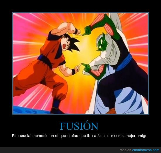 dragon ball,fusión,goku,picolo