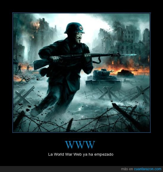 anonymous,guerra,hakers,megaupload,world war web,www