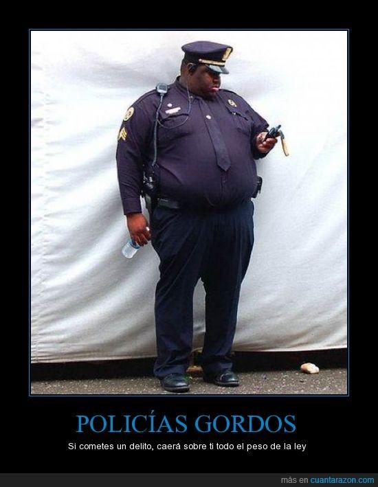 americano,gordo,ley,peso,policia
