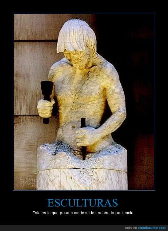 escultura,martillo,mazo,pico,piedra