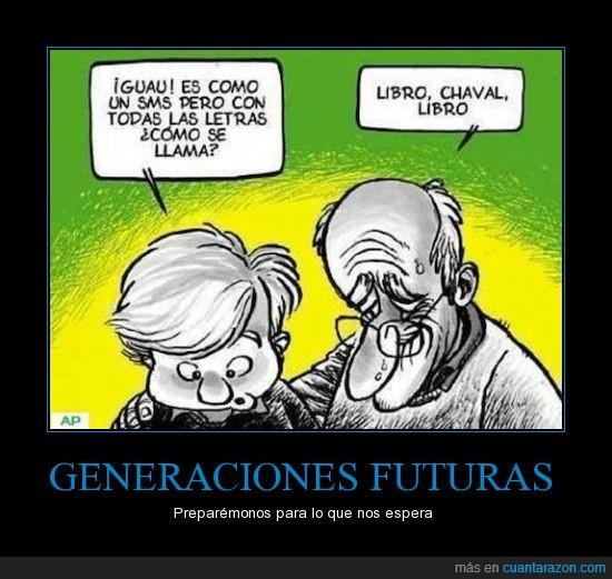 abuelo,futuro,letras,libro,nieto,sms