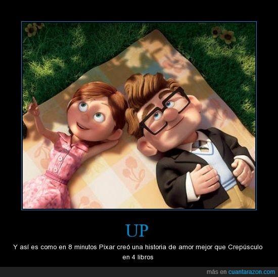 amor,crepusculo,historia,pelicula,pixar,romantico,up