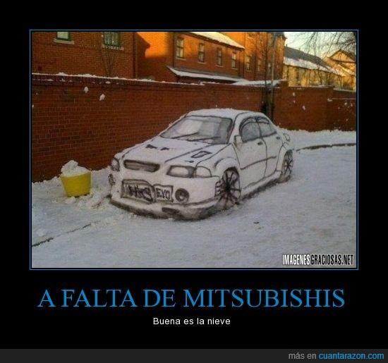 coche,nieve,pintar