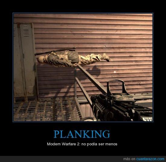 MW2,planking