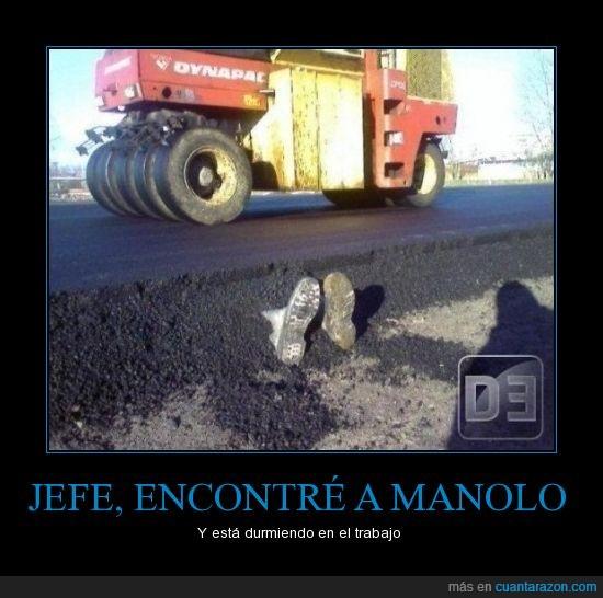 asfalto,manolo,pies,suelo,trabajo