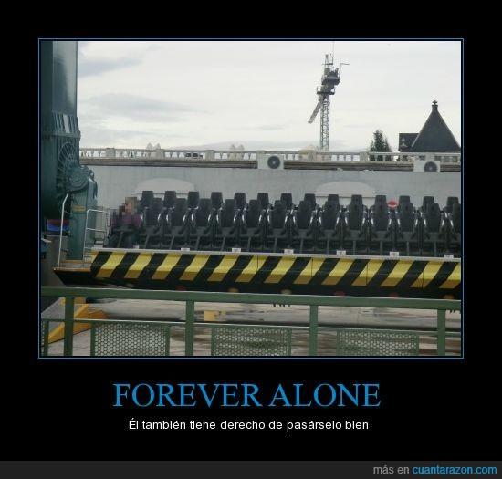 atracción,forever alone