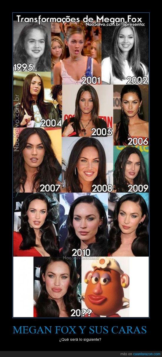 1000 maneras de desgraciarse,botox,fea,Megan Fox,operaciones