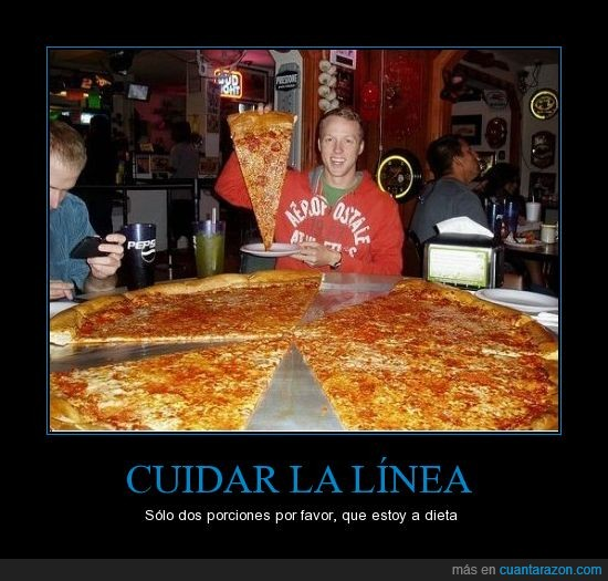 dieta,gigante,pizza