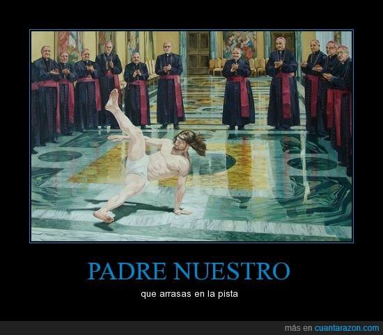 baile,breakdance,iglesia,Jesús,religión