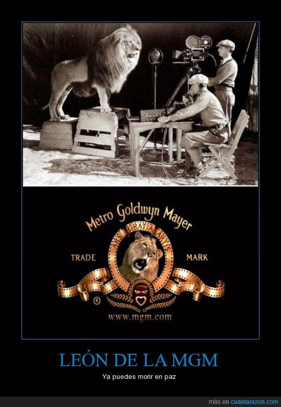 Leon,MGM,origen,rugido