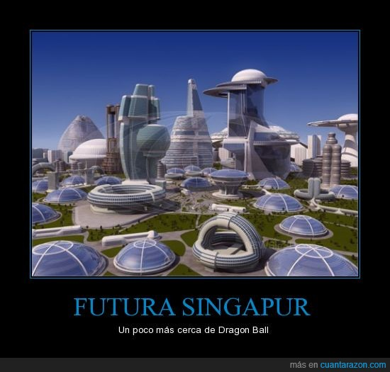 dragon ball,futuro,Singapur