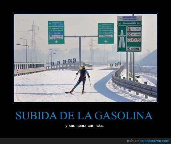 autopista,autovia,carretera,esquiador,esquiar,nieve
