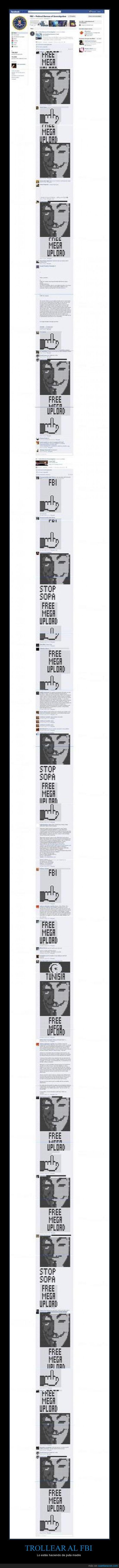 facebook,megaupload,muro,trolleo