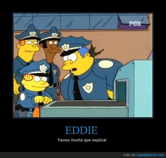 Eddie,Los Simpsons,Ralph