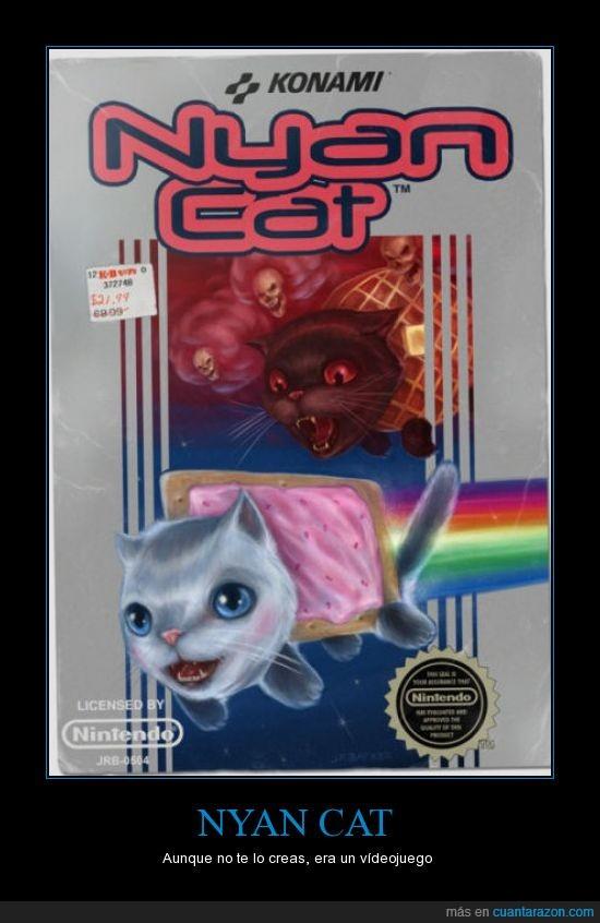 juego,nintendo,nyan cat