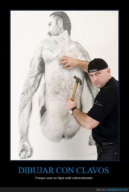 arte,clavos,martillos,obra