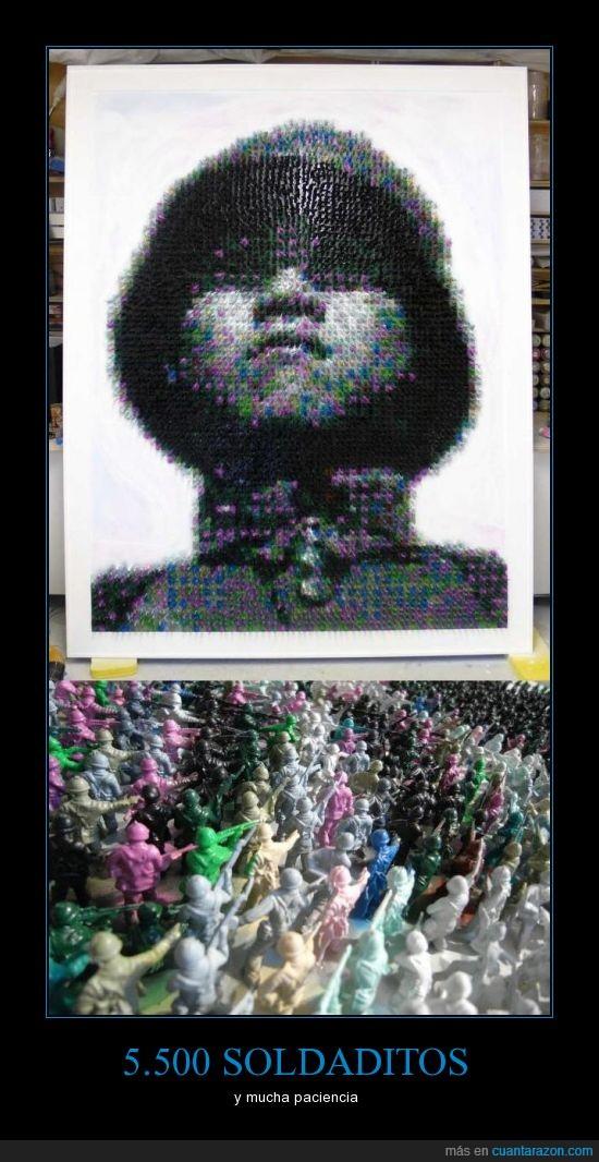 cuadro,imagen,juguetes,plástico,soldado