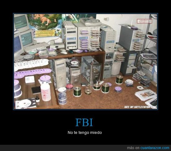 cd's everywhere,descarga,FBI,ilegal,pirata,sopa