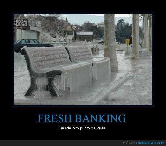 Banco,congelado,Fresh Banking