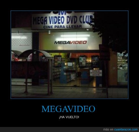 FBI,Megavideo,piratería,videoclub